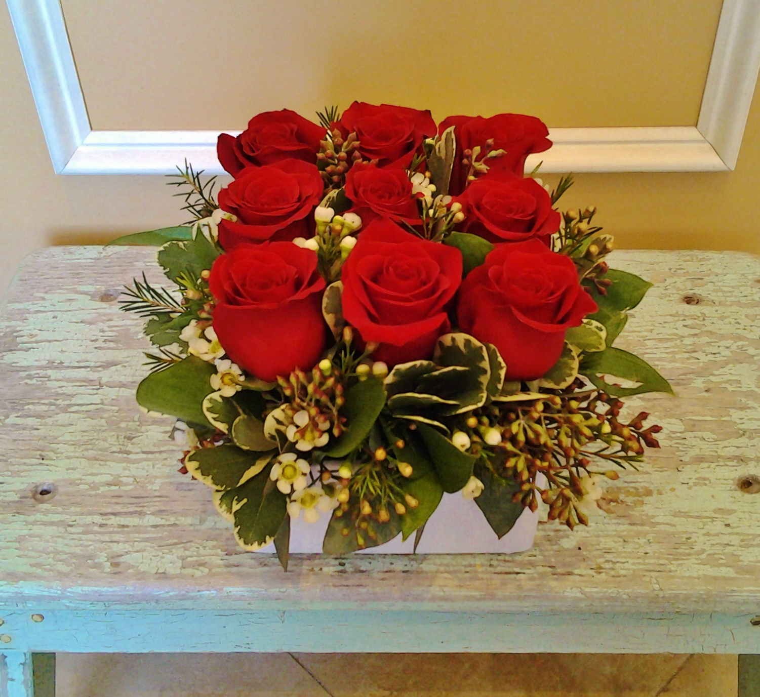 A7 $85 as shown, rose box.