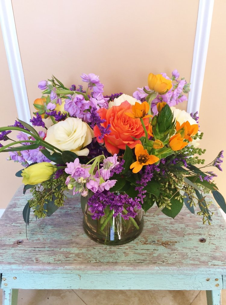 A1 $75-$125 Cluster-style arrangement. $75 as shown.