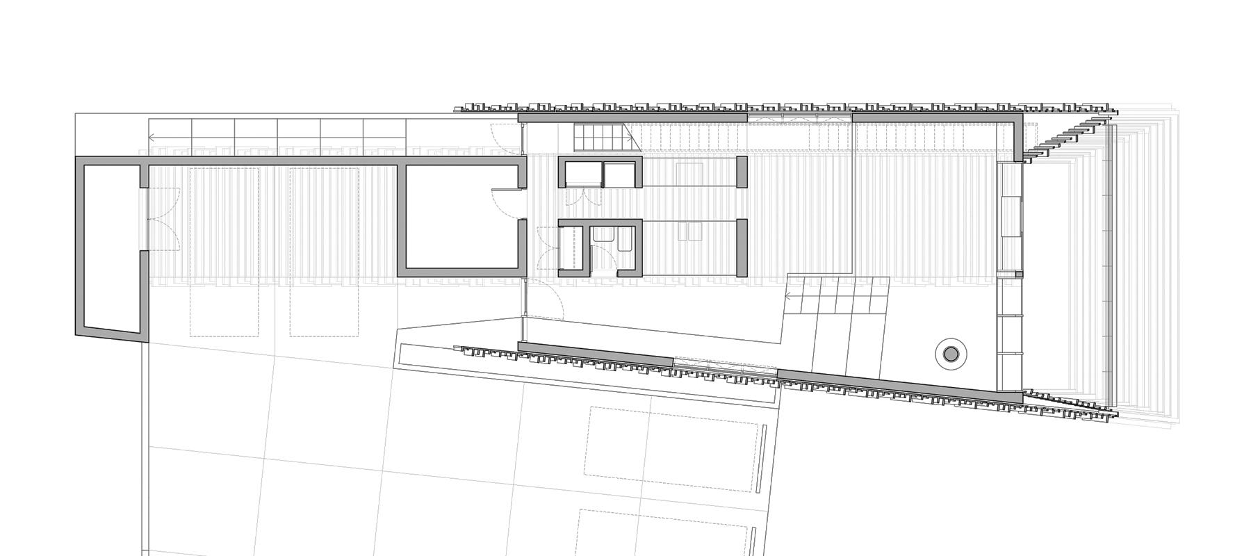 ................ first level floor plan ................