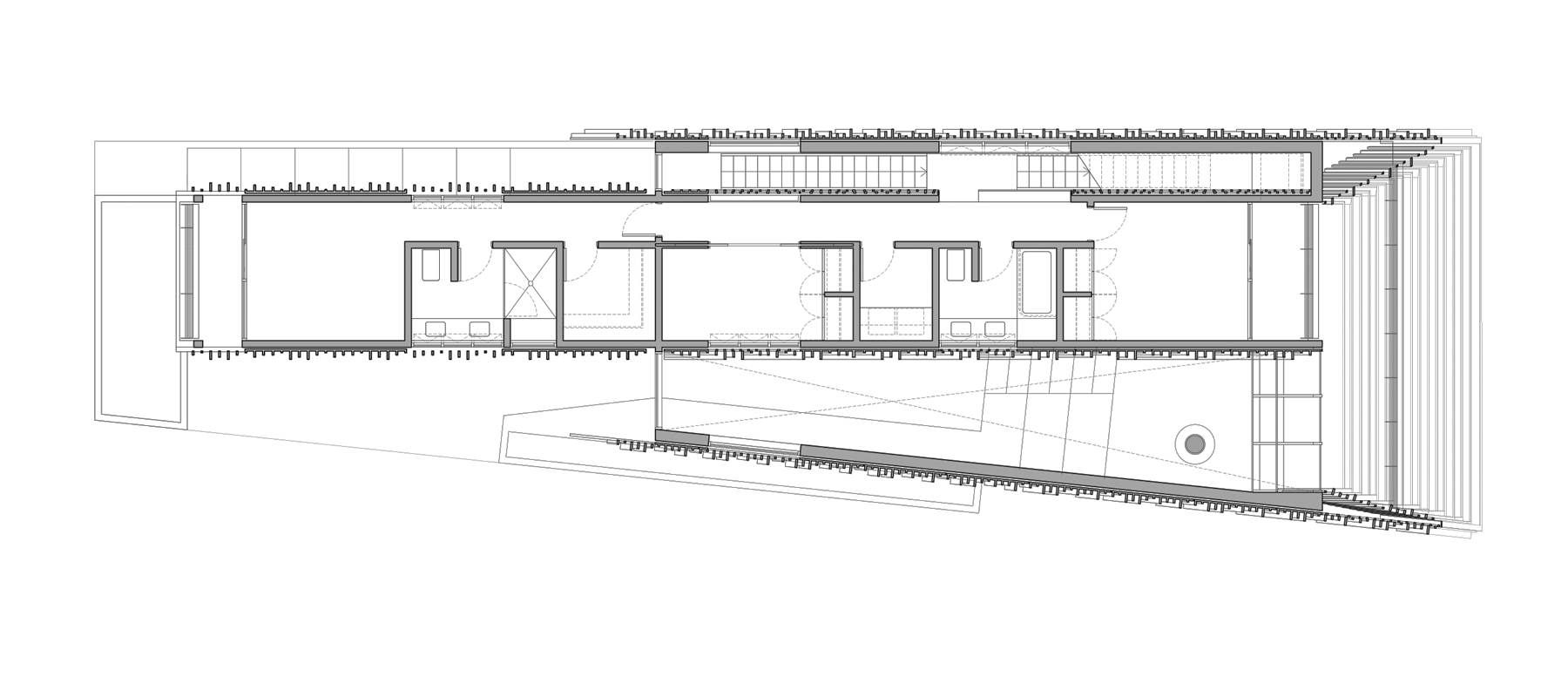 ................ second level floor plan ................