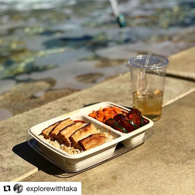Great shot of our Tender Roasted Pork Belly by @explorewithtaka !