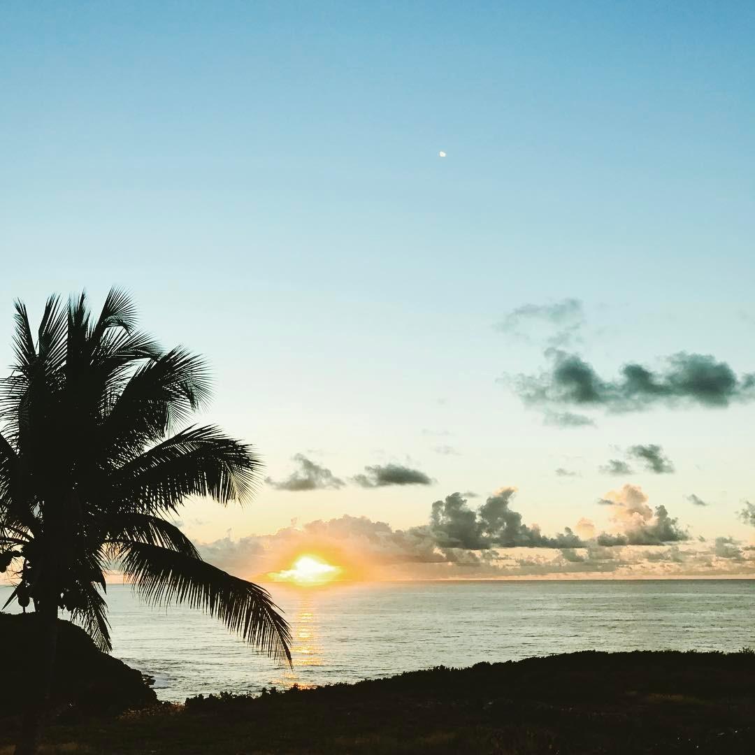 Sunrise, Saint Anne, Quadaloupe