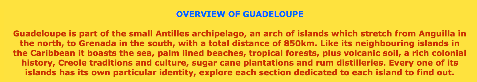 http://www.guadalupaonline.com/guadeloupe/guadeloupe.htm