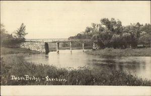 Death's Bridge, Charles River, Sherborn, MA circa 1905