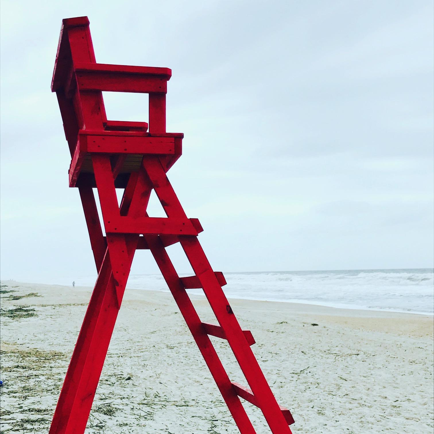Lifeguard Chair, Ponte Verde Beach, FL