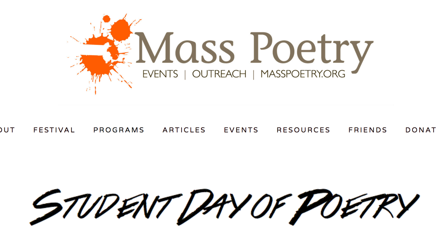 MassPoetry.org