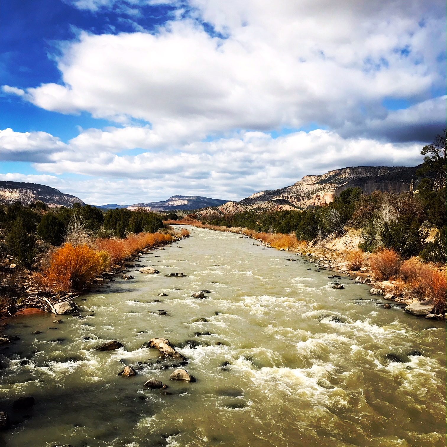 Santa Fe National Forest as Chama River Canyon Wilderness.