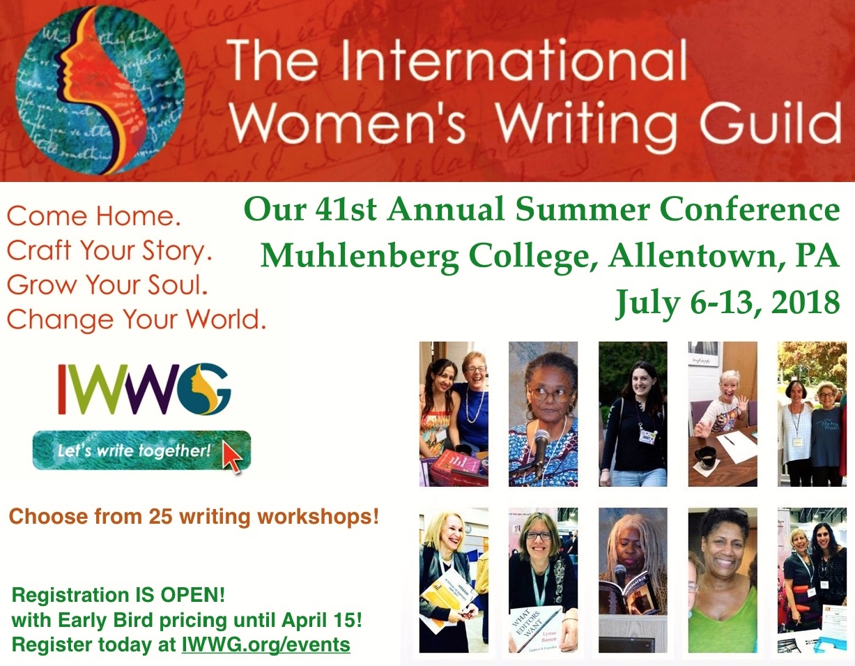 EARLY BIRD PRICING AVAILABLE UNTIL APRIL 15!
