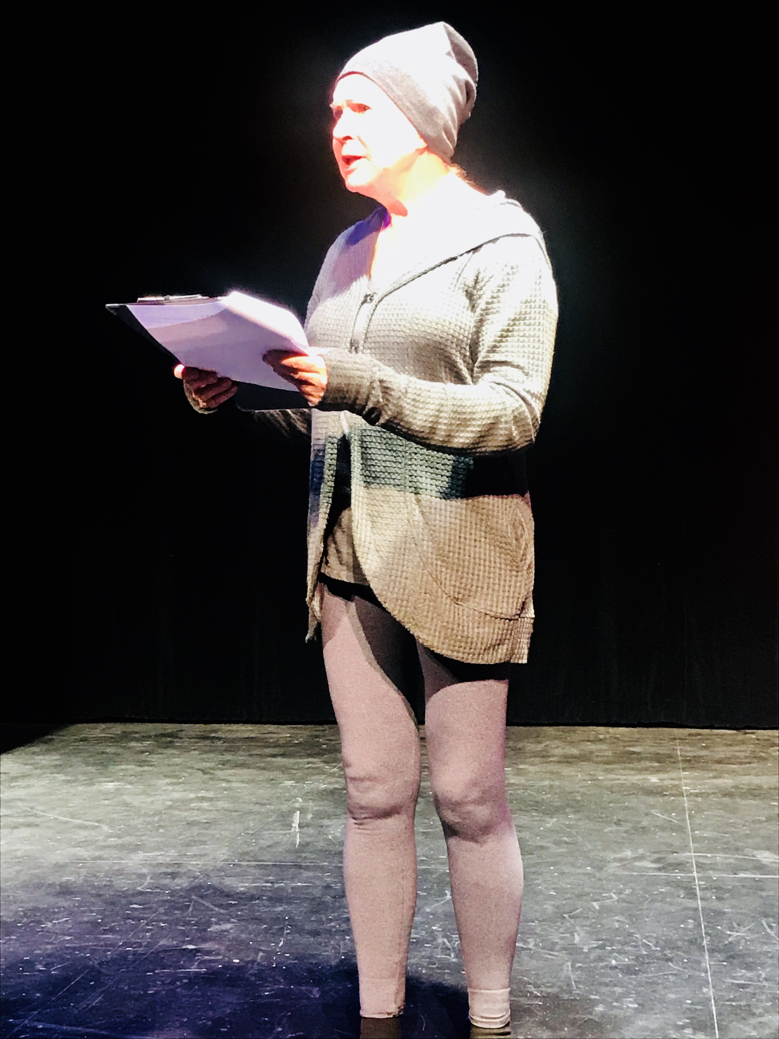 "Jane Knox, ""Call Me Sheela"" at Our Voices 2018"