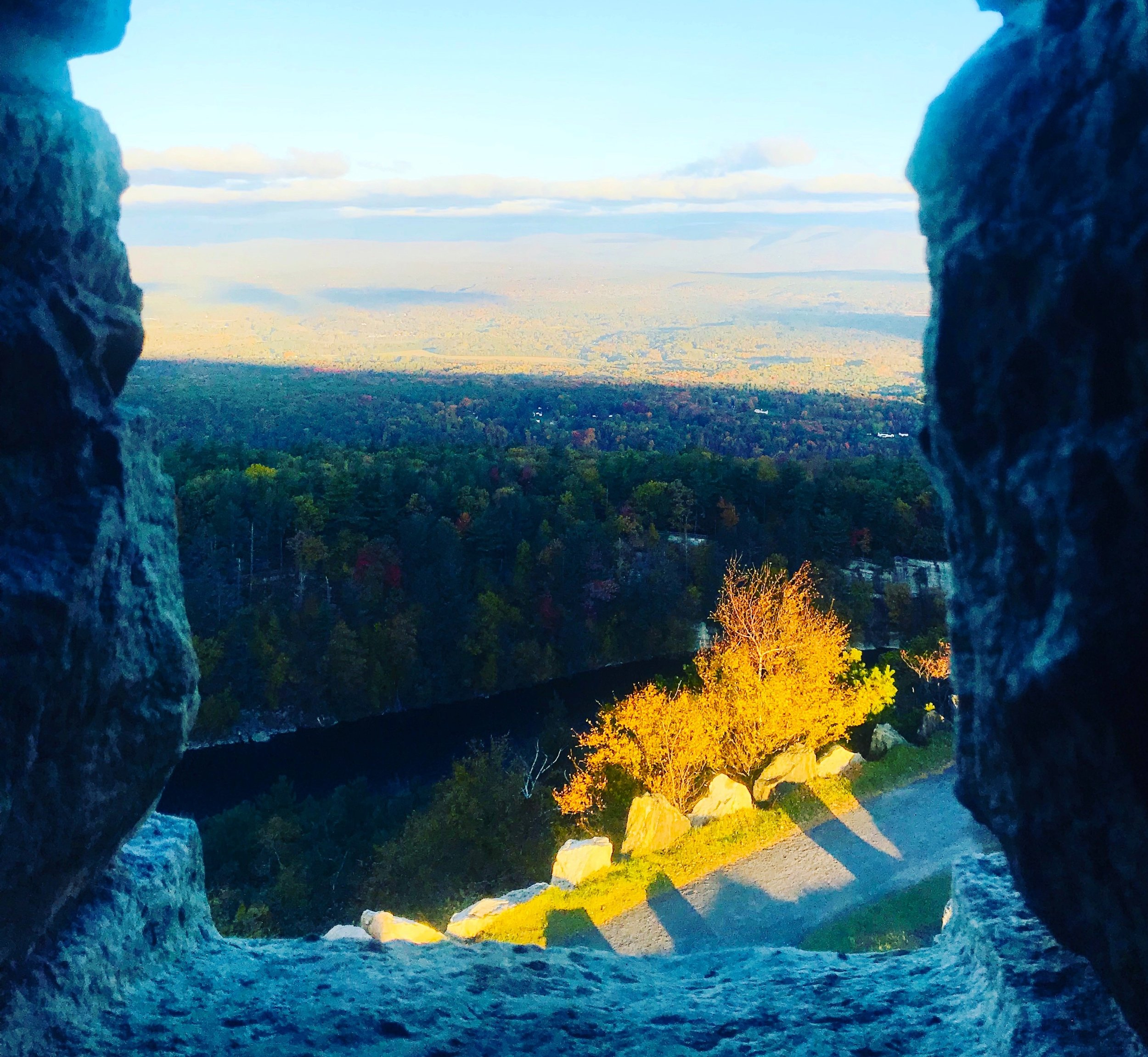 Sky Top View, Mohonk Mountain House