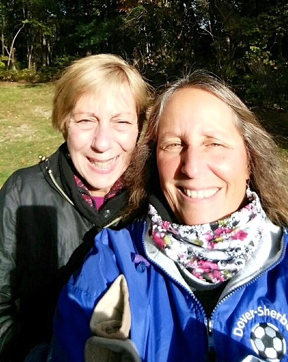 My birthday hike with Deb