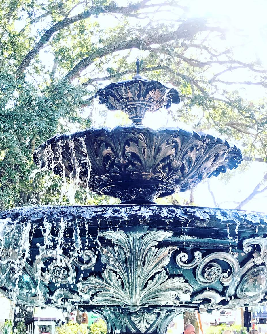 Hyde Park, Tampa, Fountain