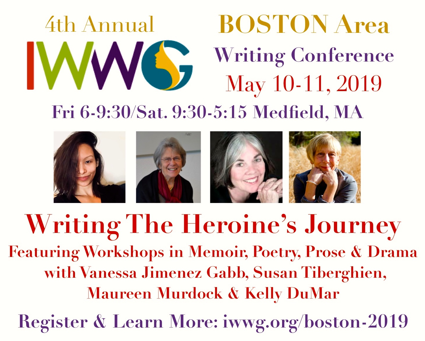 Writing The Heroine's Journey with Susan Tiberghien, Maureen Murdock, Vanessa Gabb, & Kelly DuMar