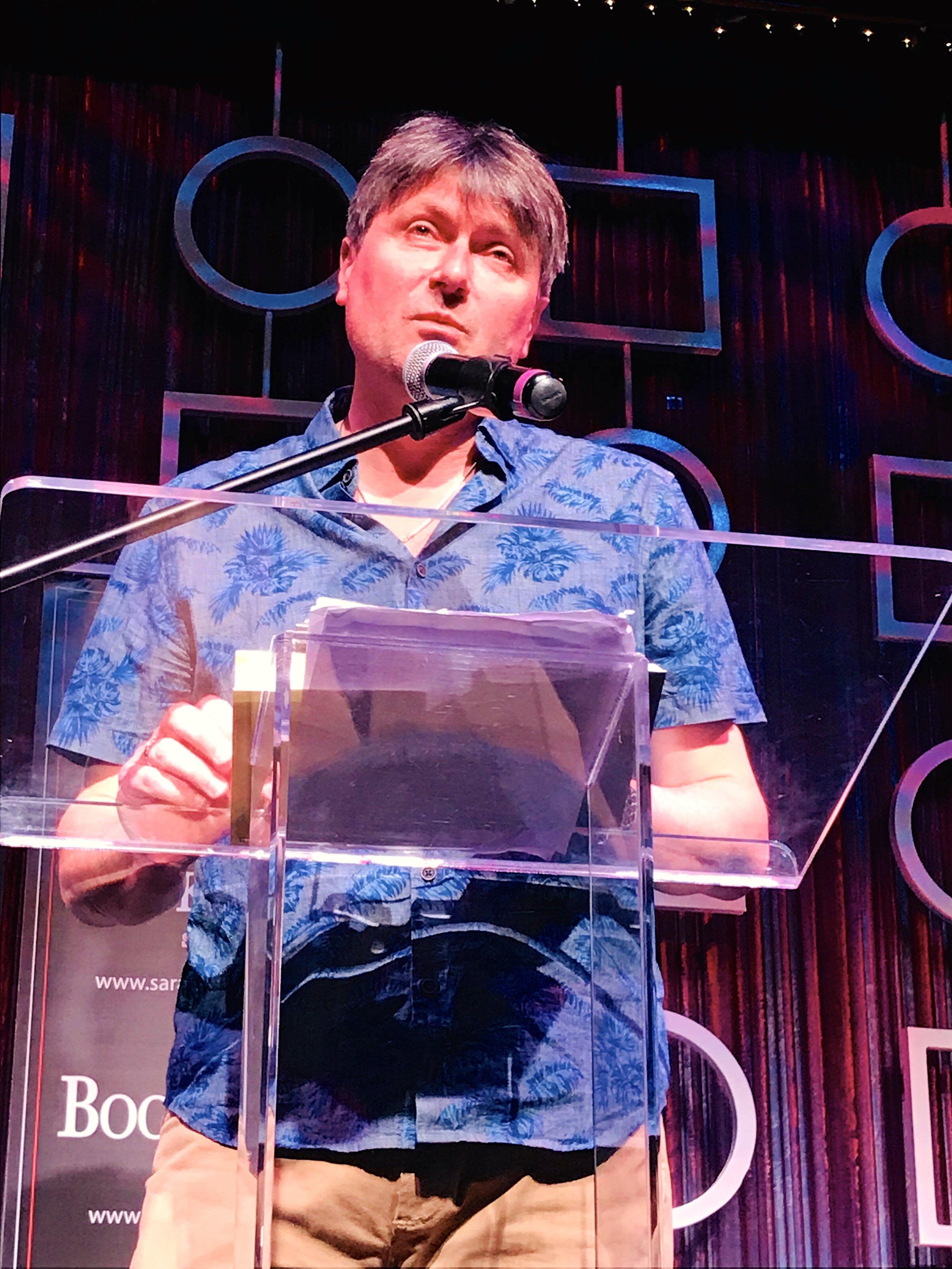 Simon Armitage, Sarasota, FL