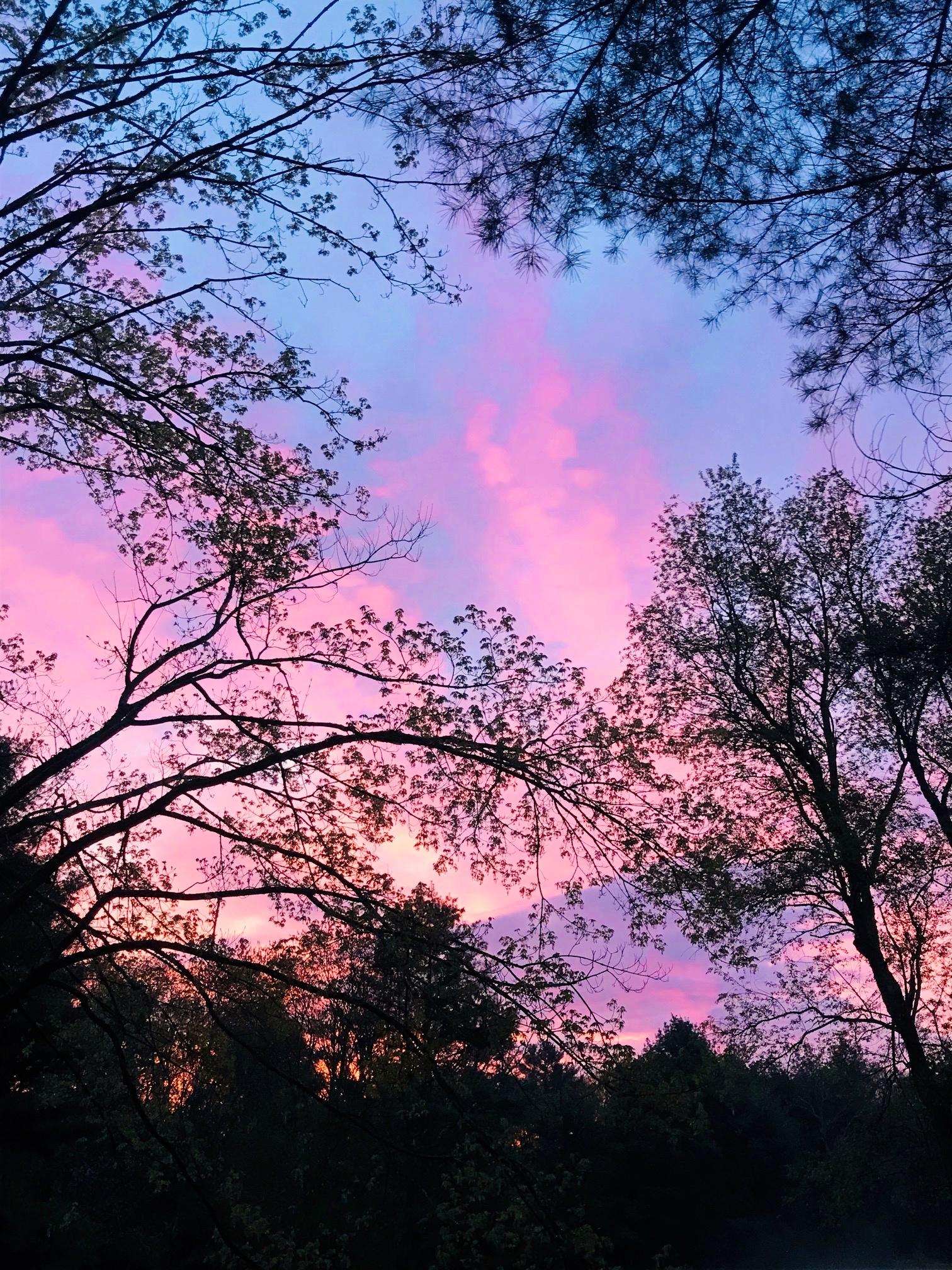 Sunrise Pink & Blue