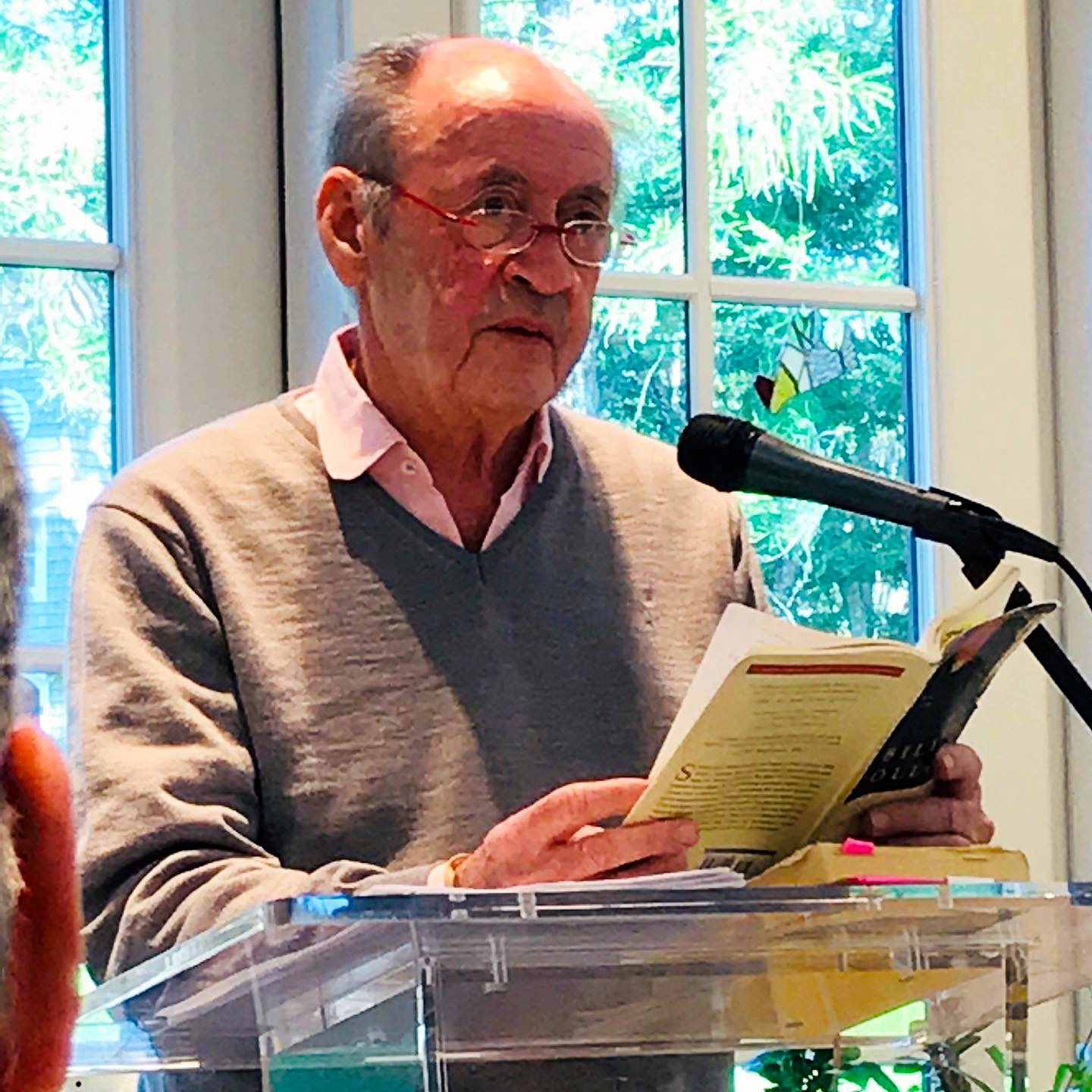 Billy Collins, Oak Bluffs, Featherstone Center for the Arts