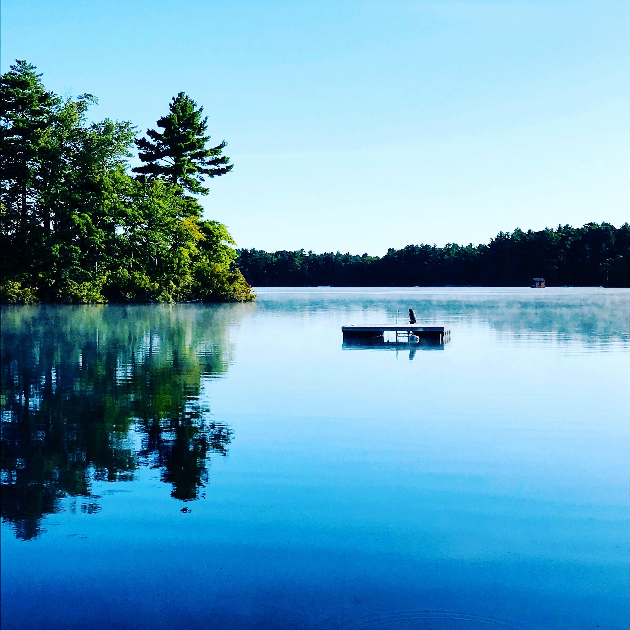 Farm Pond, Morning Paddle