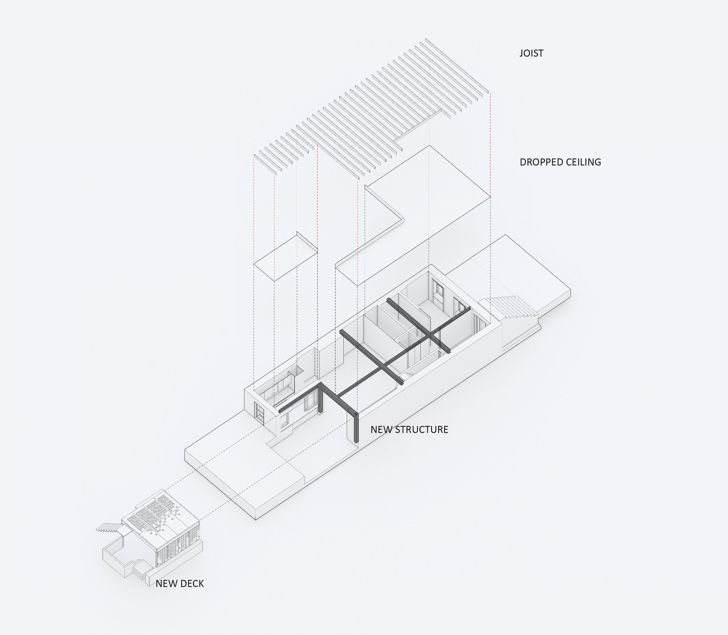 Floor Plan | Before and after renovation