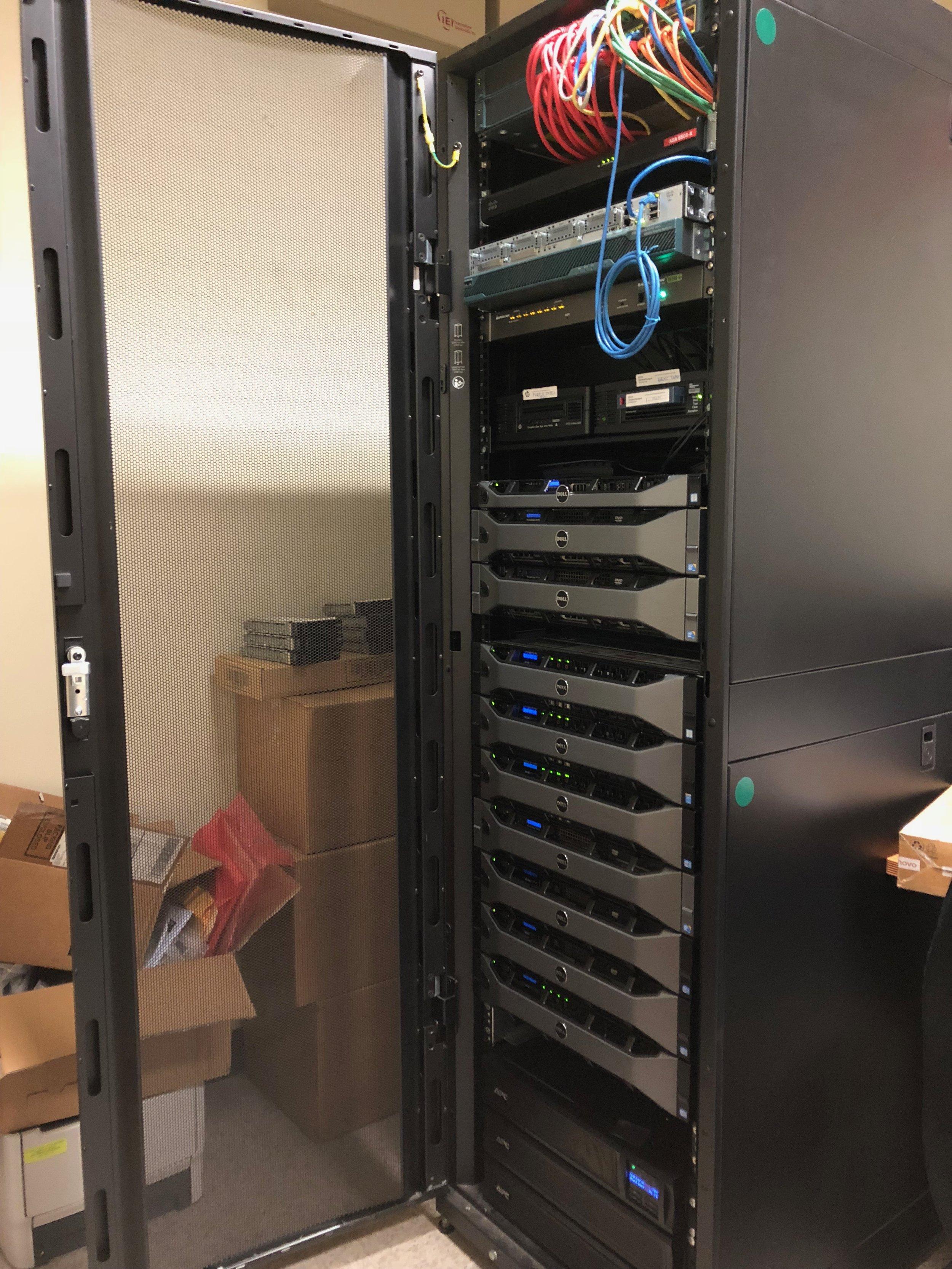 Server rack 4/25/18