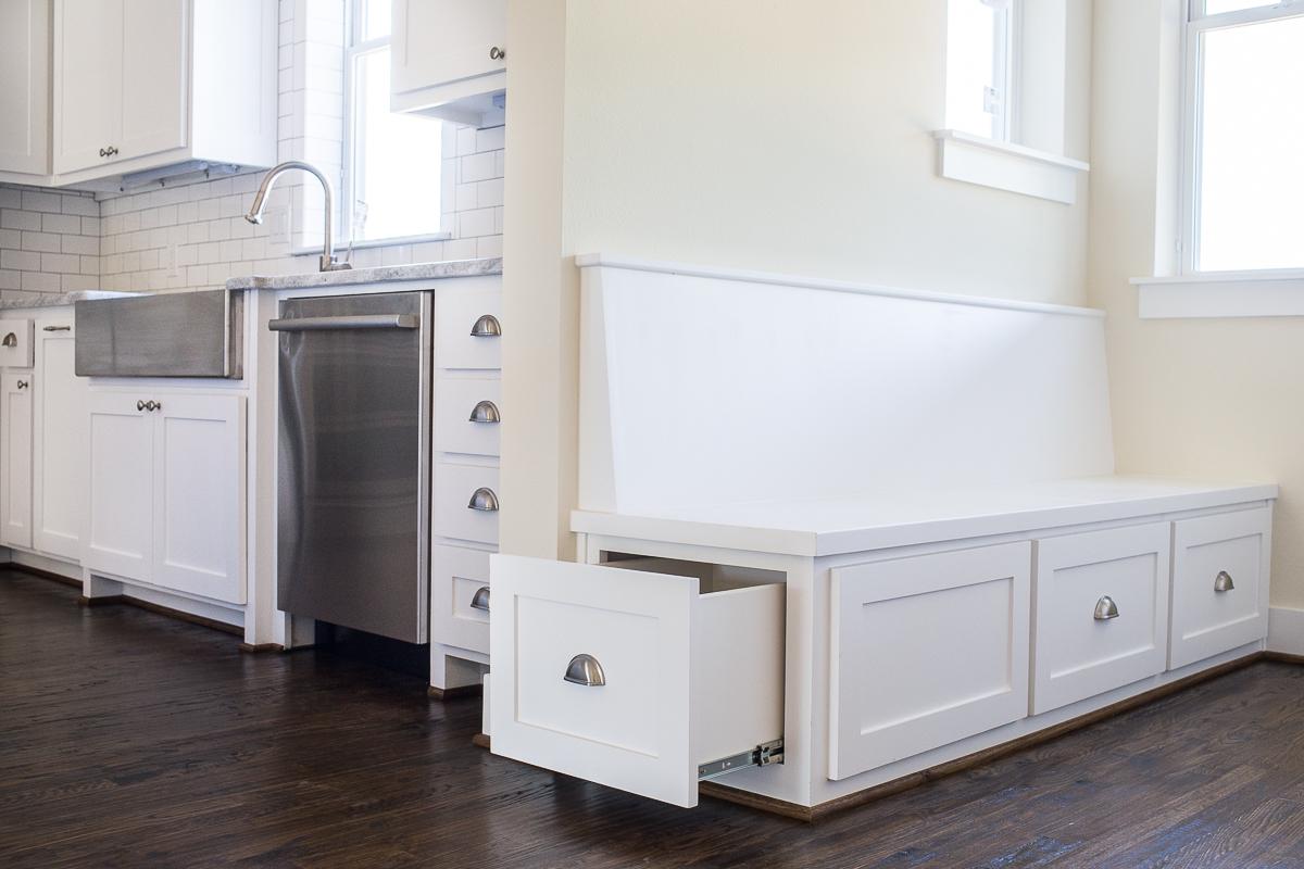 Kitchen Seating With Hidden Storage