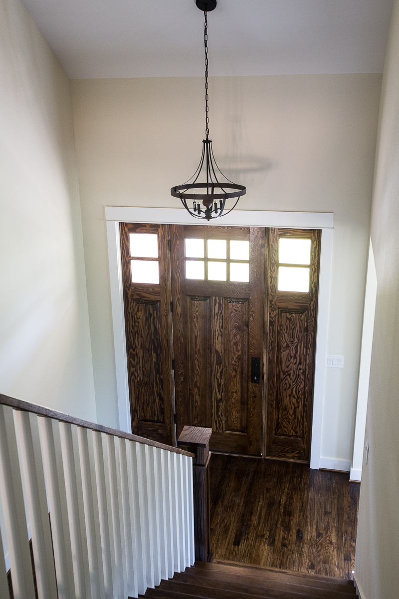 Door With Sidelight Panels