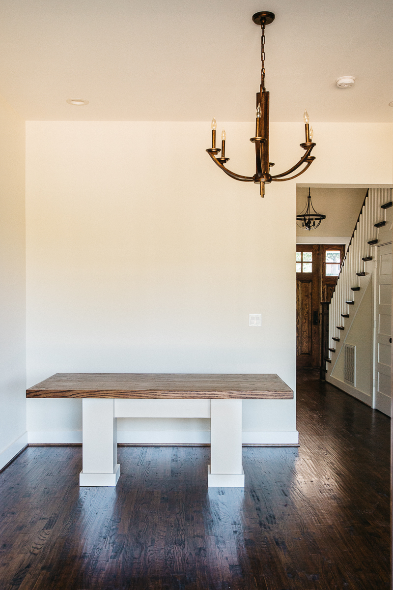 Built In Dining Table