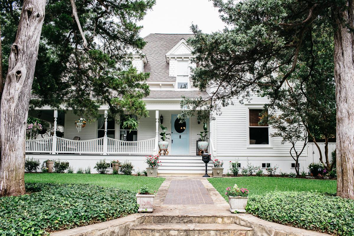 Historic Home Exterior