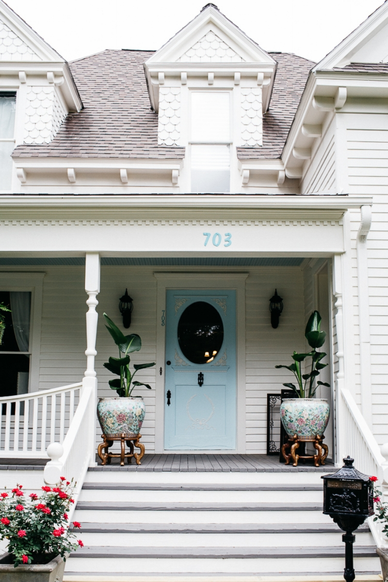 Historic Home Front Porch