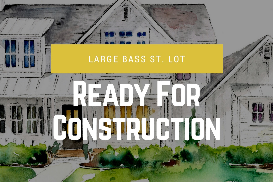 This lot is permitted and ready to begin construction. It's a large lot with a minimum 30 ft. front street setback and 10 ft. setback on each side. It's the perfect size for at 3500 sq ft. home with ample of green space.