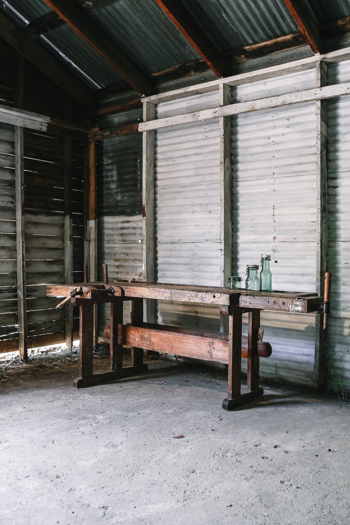 Antique Danish Workbench