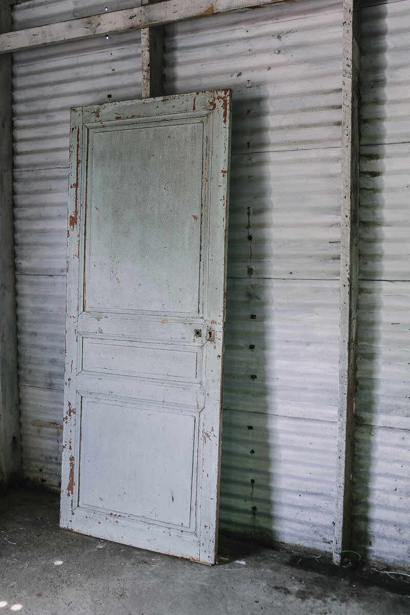French Blue Cottage Door
