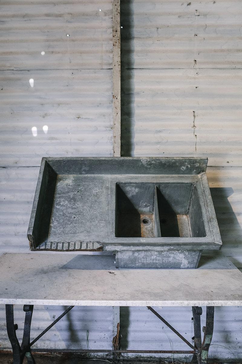 Zinc Sink