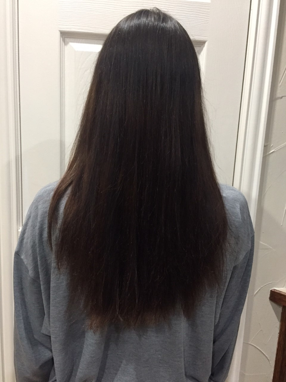 Jan 30, 2018 - After my first hair trim.I decided to take a couple of inches off my length to achieve a healthier look.I will continue to document my hair transformation each month.