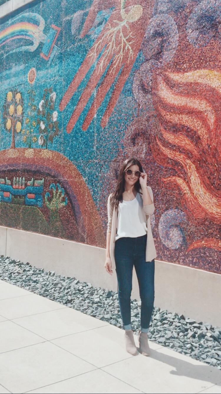 Mosaic outside of the DMA -