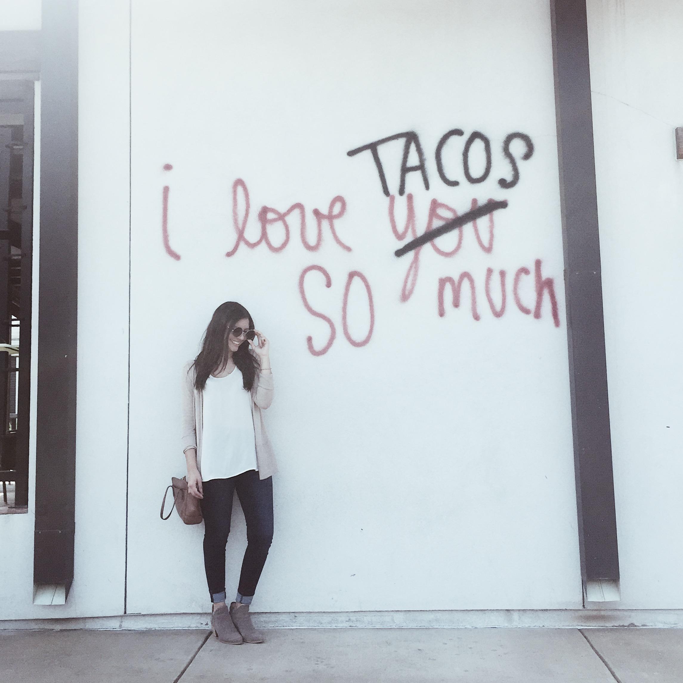 Outside Urban Taco -