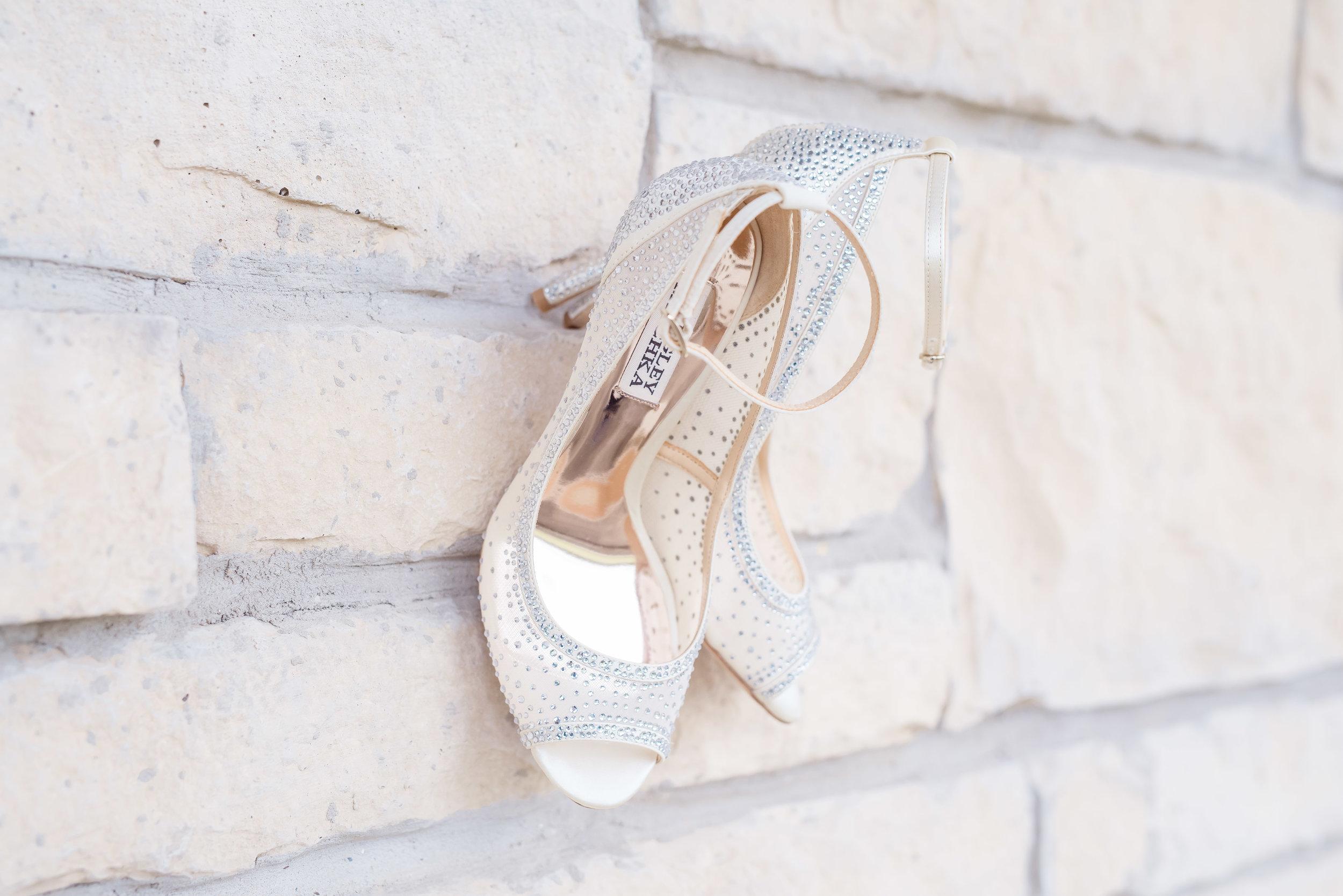 Wedding Shoes - Badgley Mischka - from Nordstrom.com