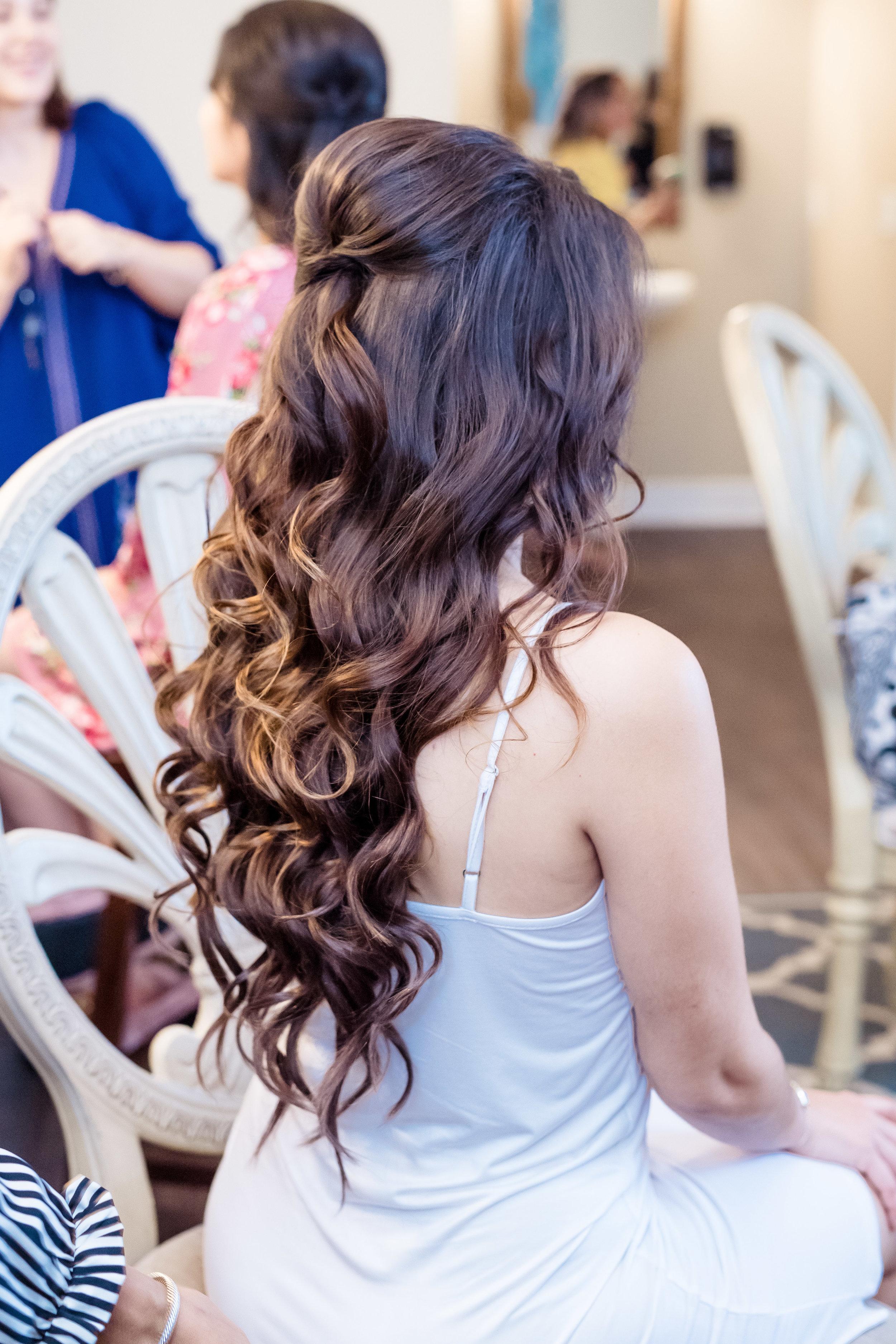 Bridal Hair - Done by Rosie