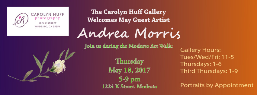 May Guest Artist, Andrea Morris