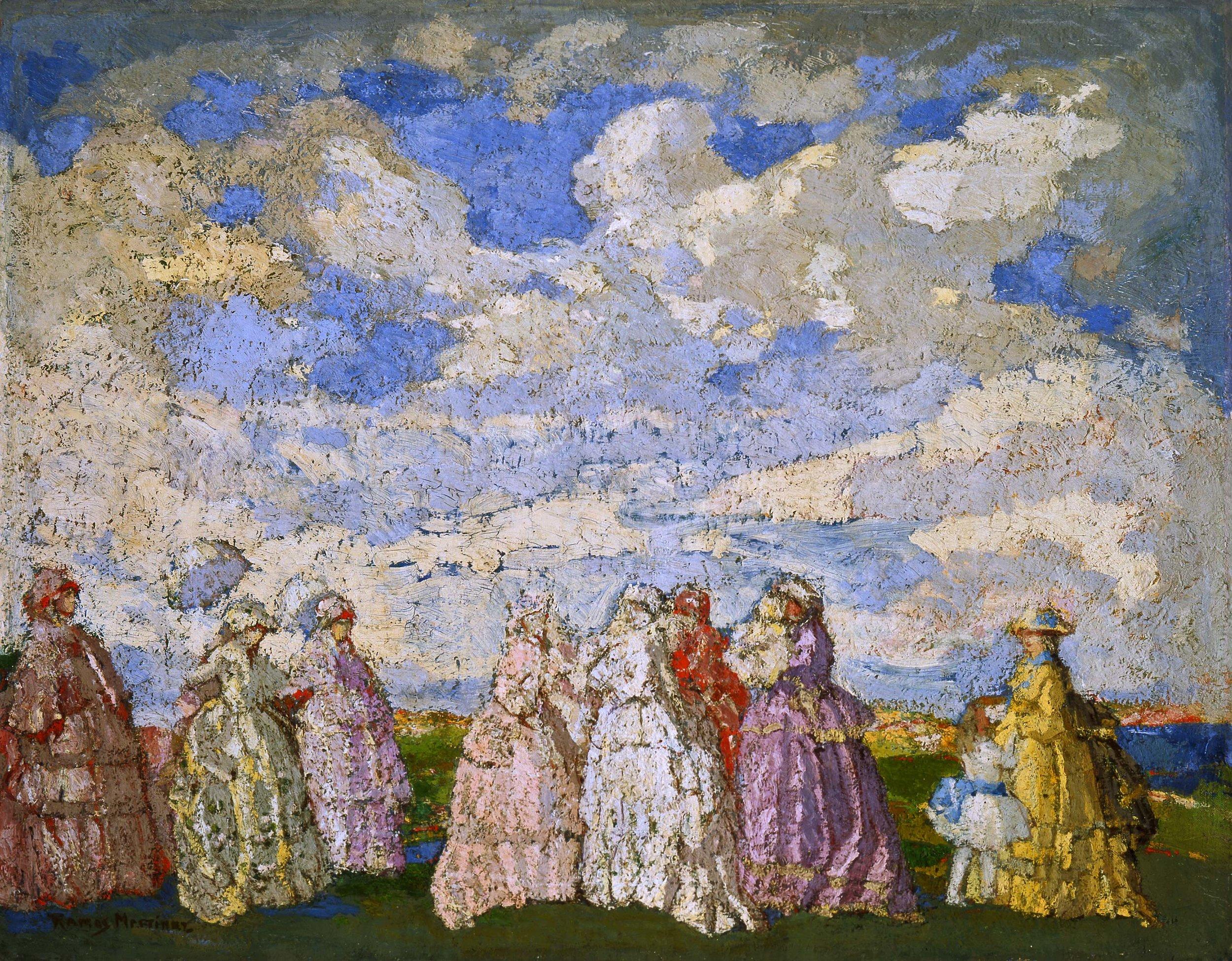 Fête Champêtre, Festival in the Countryside  ca. 1905 oil on canvas / óleo sobre tela 28.5 x 36.4 inches; 72.4 x 92.4 centímetros Museo Andres Blaisten