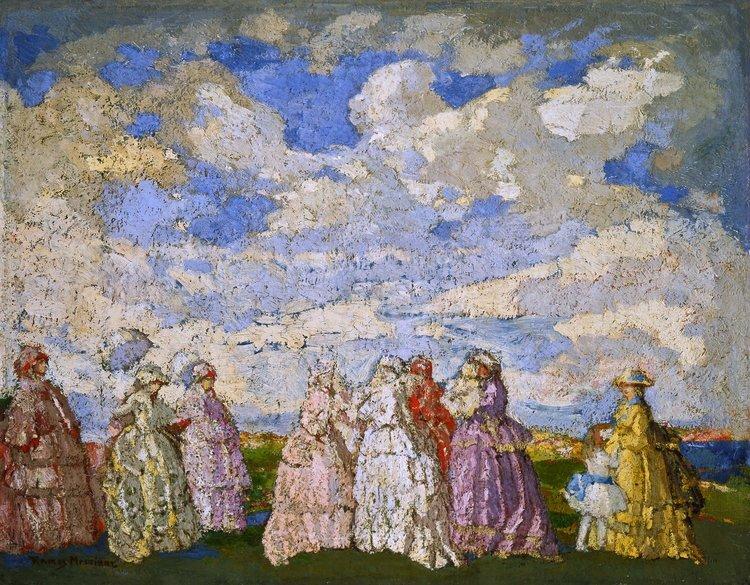 Fête Champêtre/ Festival in the Countryside  ca. 1905 oil on canvas / óleo sobre tela 28.5 x 36.4 inches; 72.4 x 92.4 centímetros Museo Andres Blaisten
