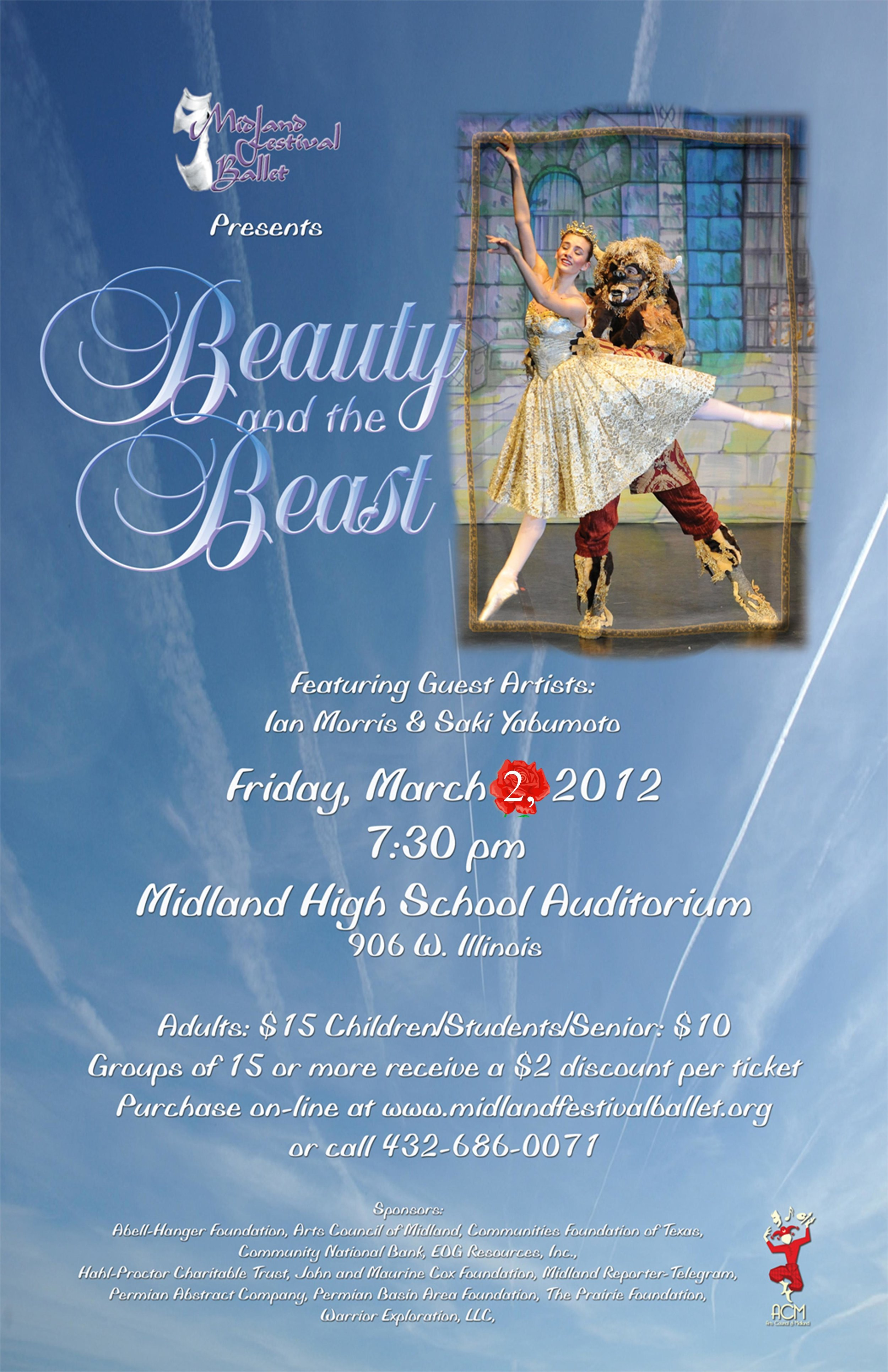 Beauty & the Beast, March 2012