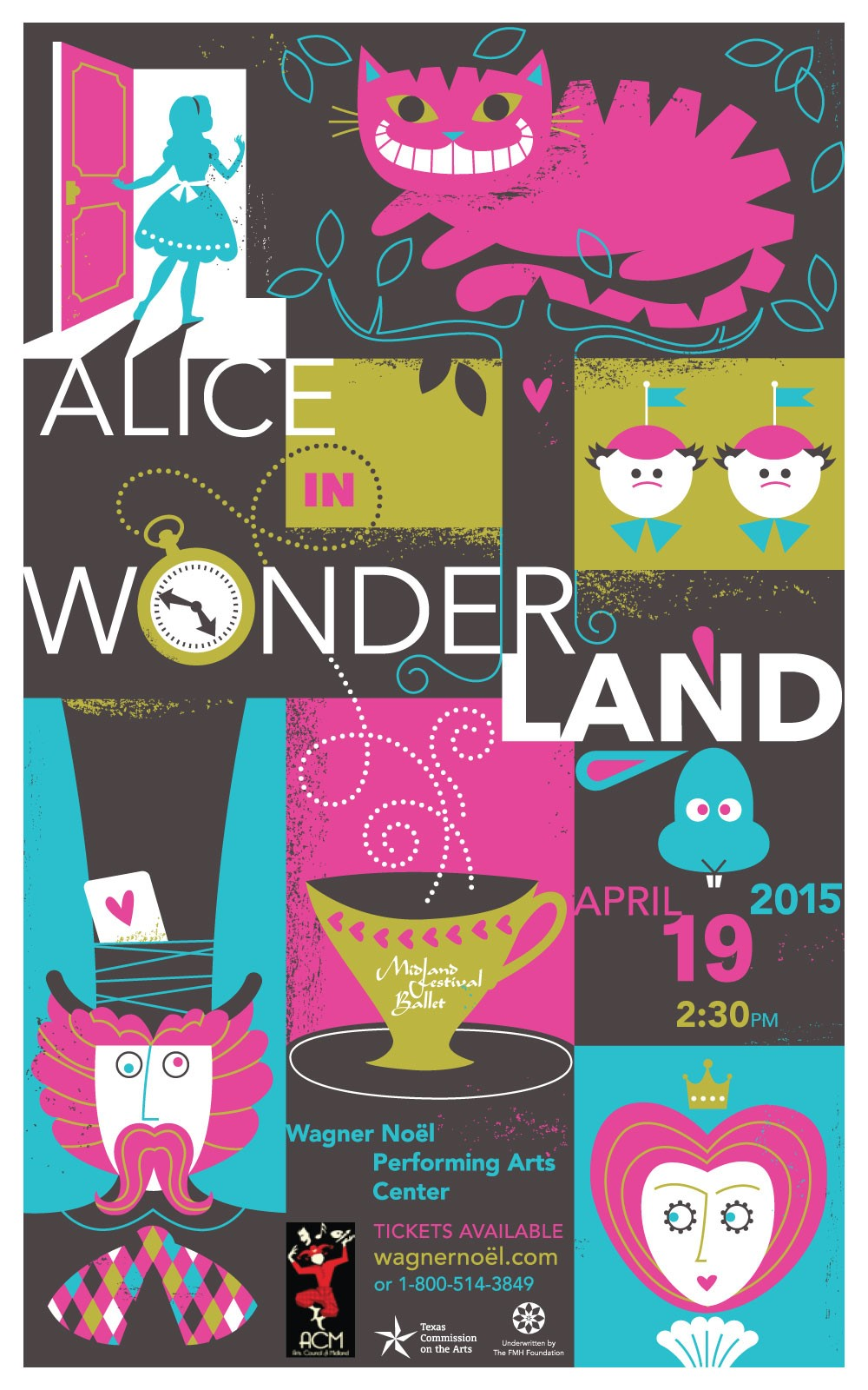 Alice in Wonderland, April 2015