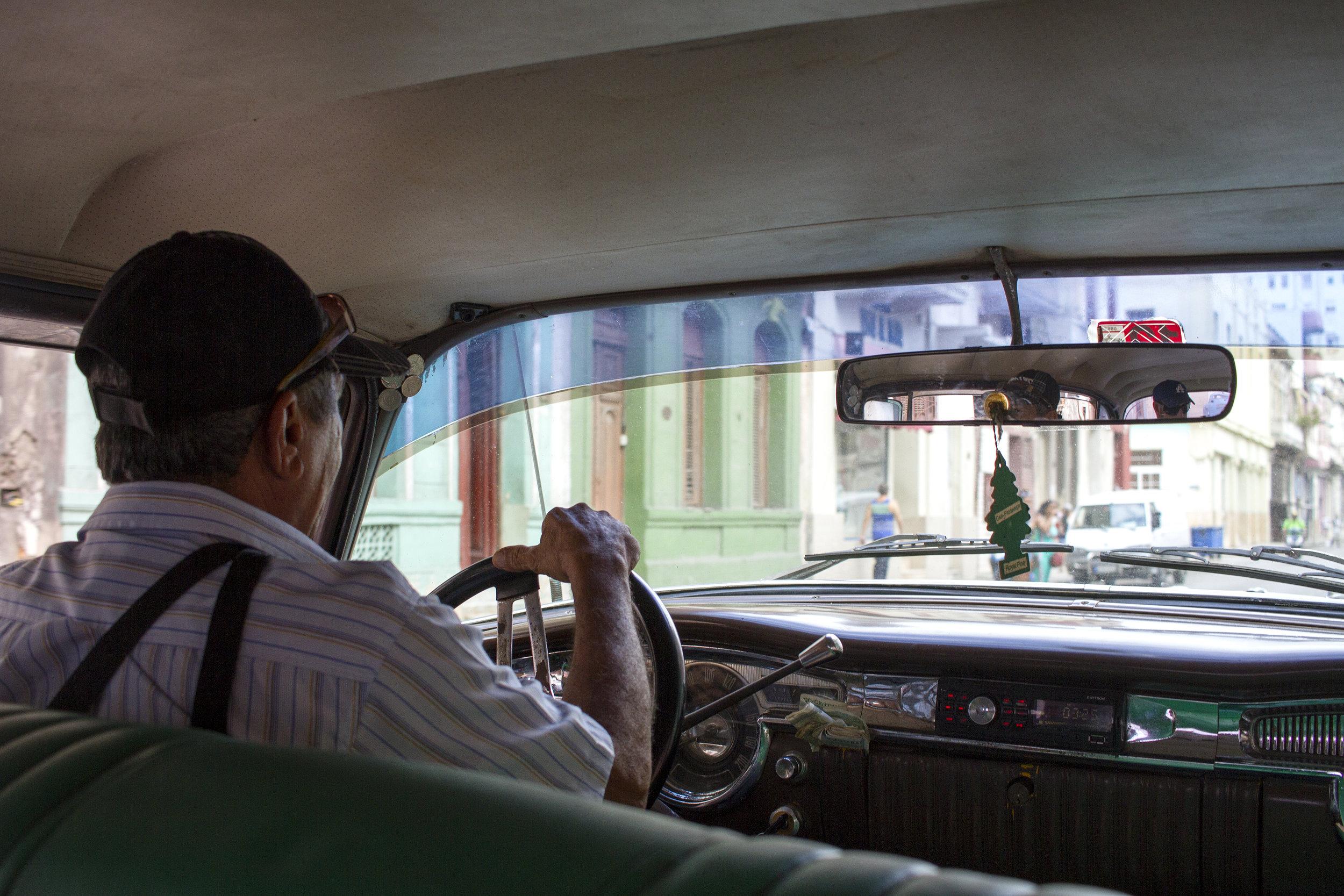 Classic collectivo taxi