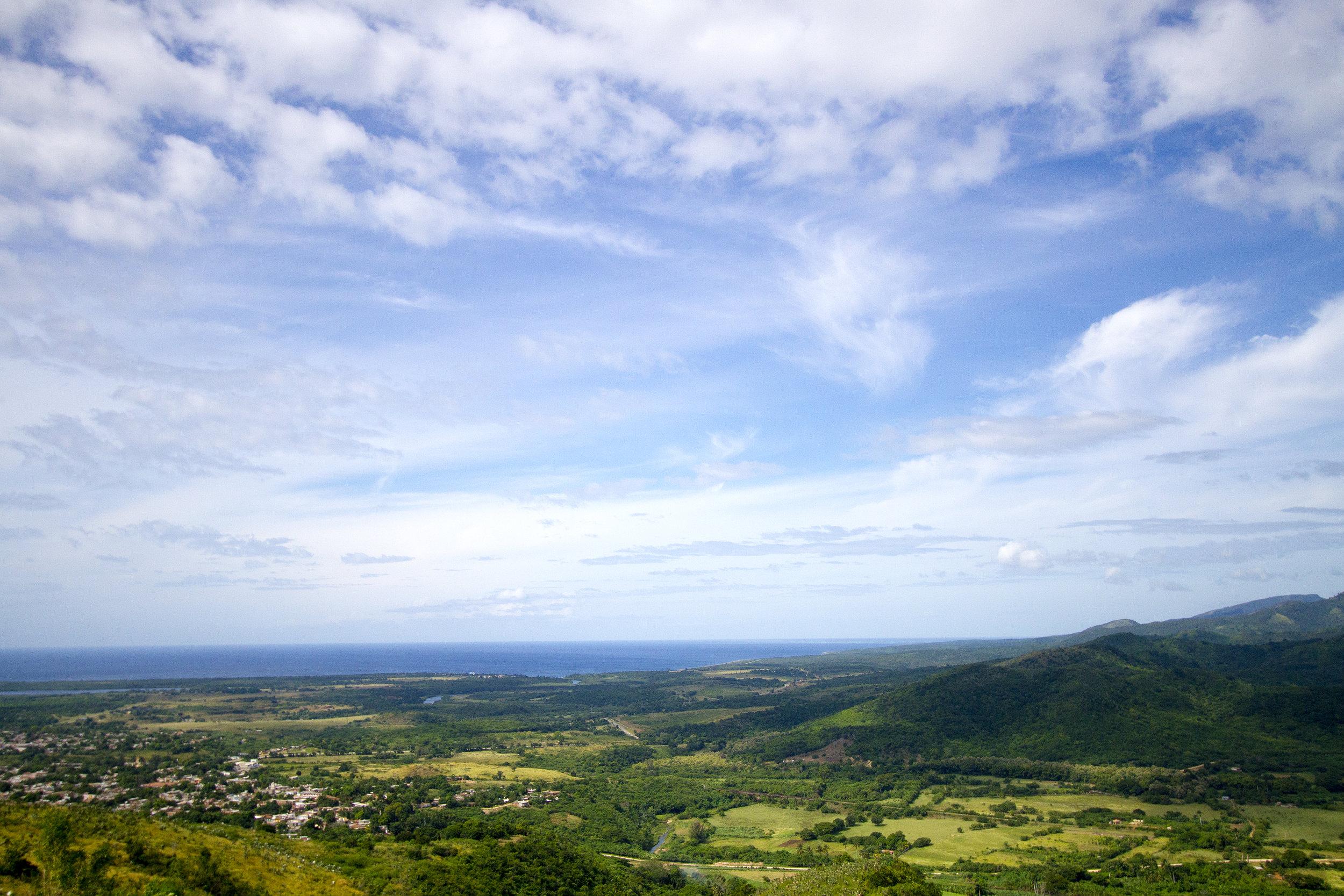 View from the top of Cerro de la Vigia