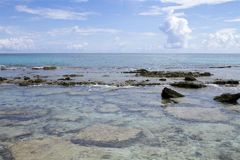 Sea views from Half Moon Caye