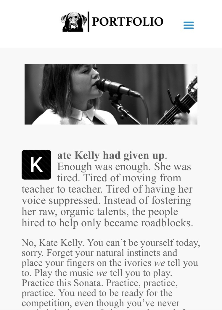Bellum Magazine feat. Kate Kelly