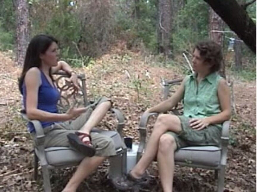 6-Part BACKYARD SERIES  - Jennifer and Carol discuss the benefits and challenges of getting along. (Click on the image to access. Sorry, terrible video quality! Originals were lost.)