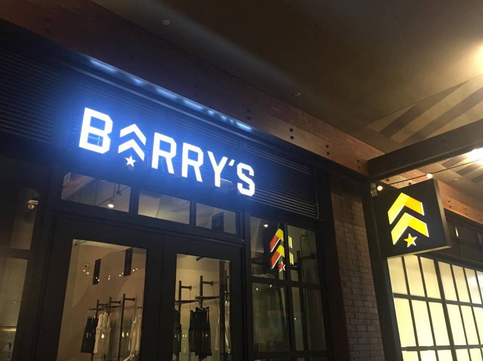 BARRY'S BOOTCAMP HOLLYWOOD LOCATION: 6201 Hollywood Blvd., Los Angeles, CA, 90028