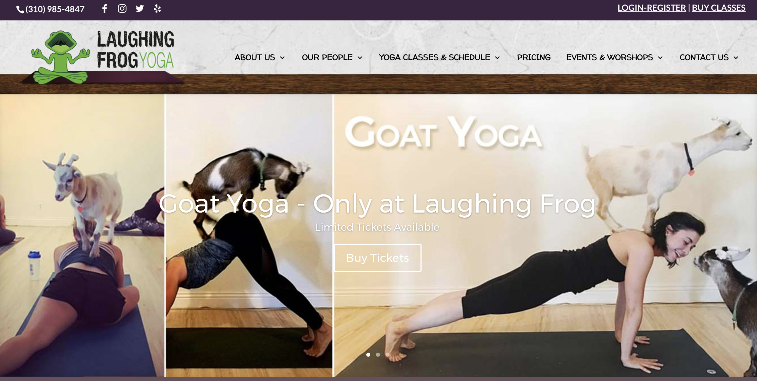 LAUGHING FROG YOGA - BRENTWOOD, CALIFORNIA