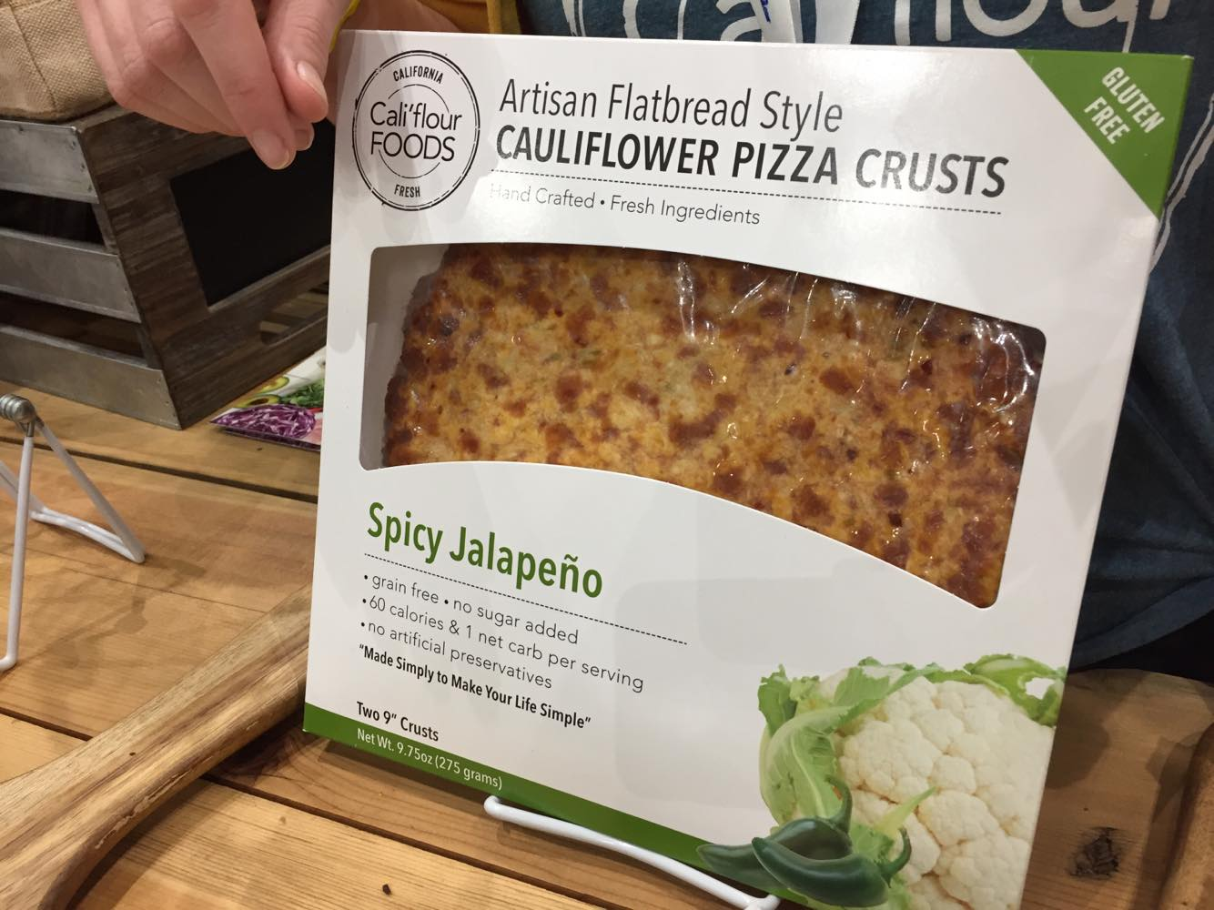 Cali'Flour Foods Cauliflower Pizza Crusts